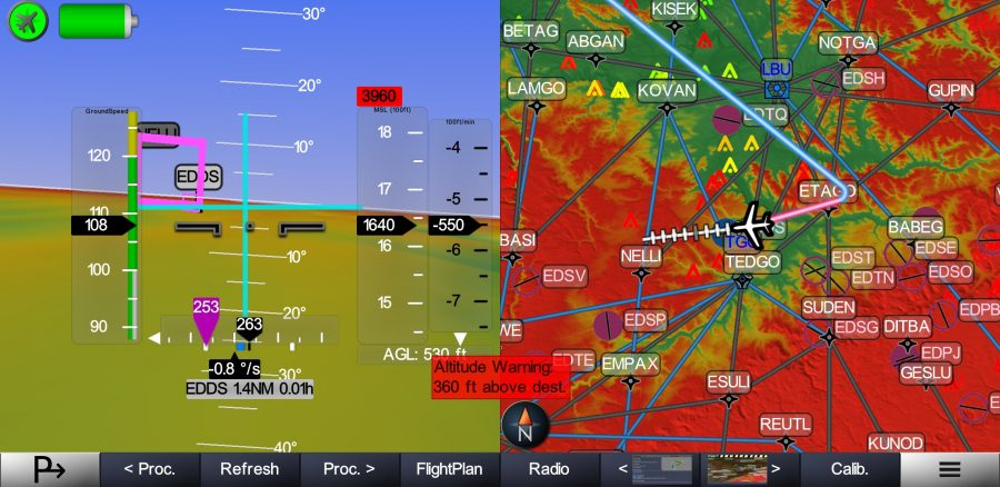 Horizon Glass Cockpit SplitScreen edds