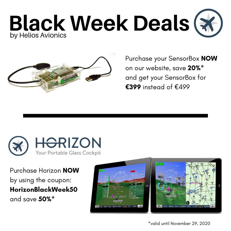HeliosAvionics Black Week 2020